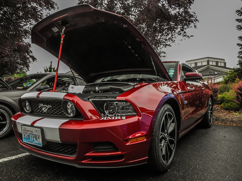 Mustang Red Hot Pony