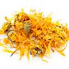 Dried calendula herb flowers