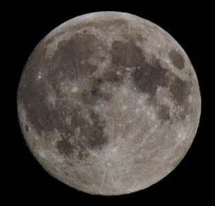 één keer per jaar is de maan op zijn grootst.  Date Taken:2013-06-22 23:15:55 Camera:Canon EOS 7D Exposure Time:0.008s (1/125) Aperture:f/10 ISO:100 Focal Length:280mm (448mm in 35mm) (convertor 1.4 op 200mm)