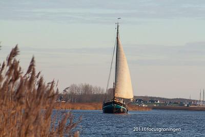 nederland 2008, lauwersoog, schepen