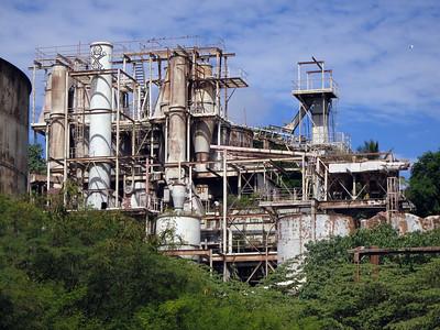 Phosphate works