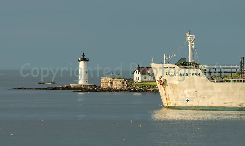 Outbound Past Portsmouth Harbor Light