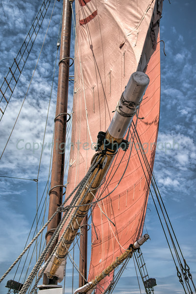 The Margaret Todd's sails are trimmed for a steady  breeze as she<br /> makes her way along and between the islands of  Bar harbor.  The four-masted schooner  provides guests with an experience aboard one of Maine's  largest working schooners. Oh, your pet is also welcomed aboard this vessel.