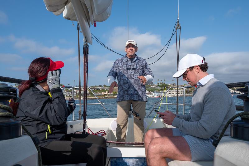 First Beercan Race of the 2021 sailing Season at Balboa Yacht Club
