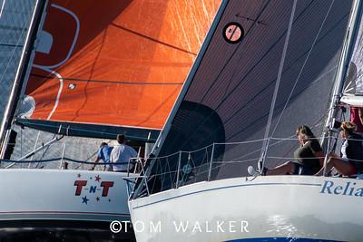 Beercan Series Yacht racing in Newport Harbor, Ca