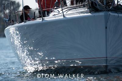 Beercan Series Yacht racing in Newport Harbor