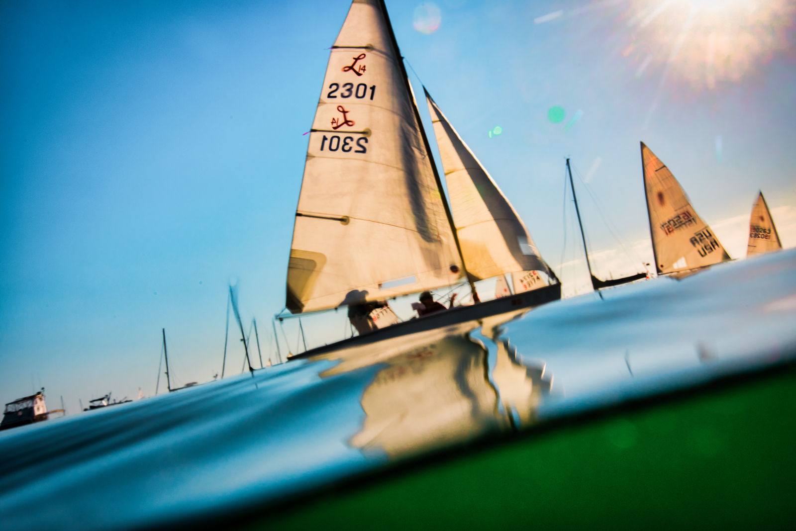 7/5/176:19:40 PM---TWednesday Night Twilight Racing at Balboa Yacht ClubPhotos  Tom Walker