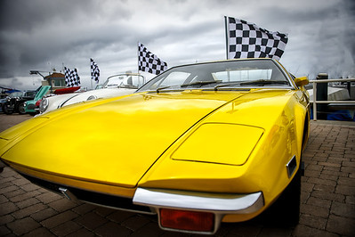 Photos of the Balboa Yacht Club's Annual Car Show in Newport Harbor, California