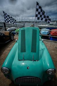 Photos of the Balboa Yacht Club's Annual Car Show in Newport Harbor, California