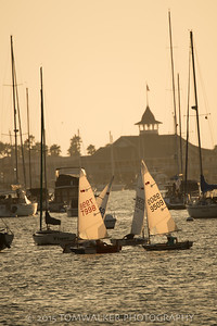 Newport Harbor Twilight Series Photo