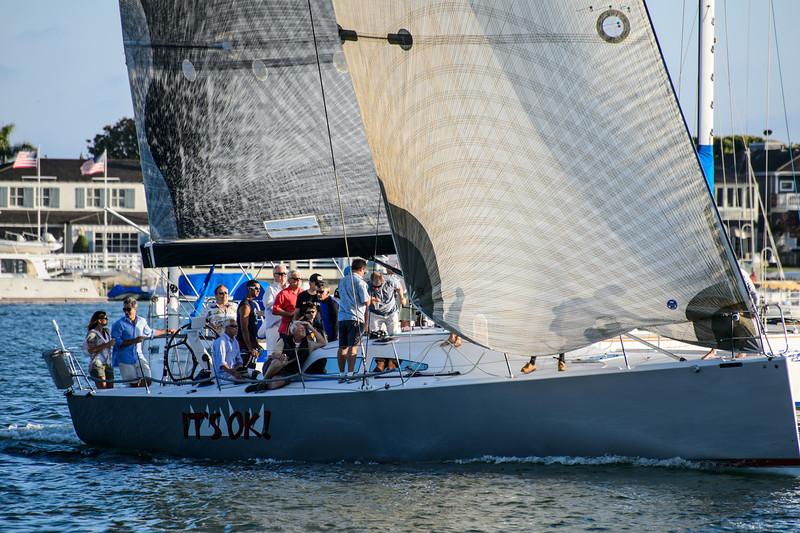 Photographs of the Balboa Yacht Club Beercan Regatta June 2013