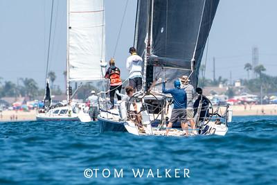 BYC Catalina Race, August 29, 2020 Newport Beach, California