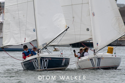 October 9 On the Water Photos from   2020 Championship of Champions Regatta, October 8, 2020 in Newport Harbor, Newport Beach, California. Photo by Tom Walker