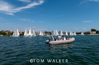 October 10 - On the Water Photos from   2020 Championship of Champions Regatta, October 10, 2020 in Newport Harbor, Newport Beach, California. Photo by Tom Walker
