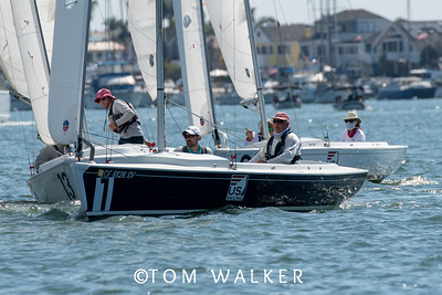 October 11 - On the Water Photos from   2020 Championship of Champions Regatta, October 11, 2020 in Newport Harbor, Newport Beach, California. Photo by Tom Walker
