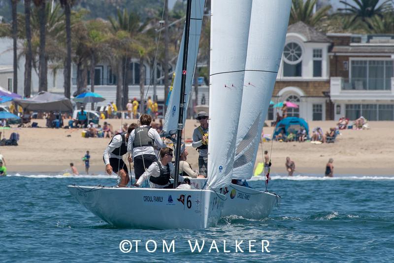 2018 Governor's Cup Match Racing Regatta,  Balboa Yacht Club,  Corona del Mar, CA ©Tom Walker