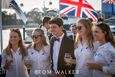 7/17/178:05:41 AM---Opening Ceremonies of the Governor's Cup Match Tacing regatta hosted by Balboa Yacht Club | Photo Tom Walker