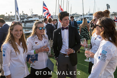 7/17/178:07:30 AM---Opening Ceremonies of the Governor's Cup Match Tacing regatta hosted by Balboa Yacht Club | Photo Tom Walker