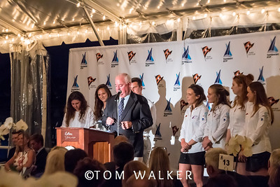 7/17/1710:09:15 AM---Opening Ceremonies of the Governor's Cup Match Tacing regatta hosted by Balboa Yacht Club | Photo Tom Walker