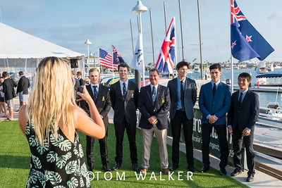 7/17/178:09:34 AM---Opening Ceremonies of the Governor's Cup Match Tacing regatta hosted by Balboa Yacht Club | Photo Tom Walker