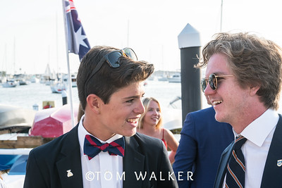 7/17/178:08:33 AM---Opening Ceremonies of the Governor's Cup Match Tacing regatta hosted by Balboa Yacht Club | Photo Tom Walker