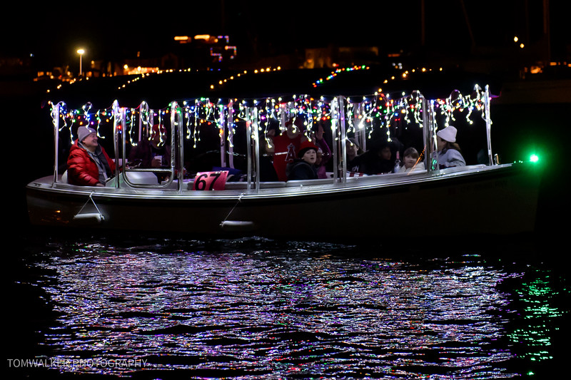 Duffy 67 Newport Chrismas Parade of Lights.