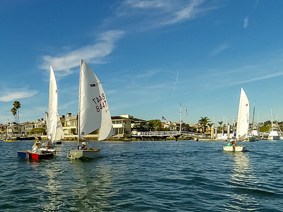 Tom Walker Photography Boating Lifestyle and Yachting Images - Balboa Yacht Club Super Sabot Saturday
