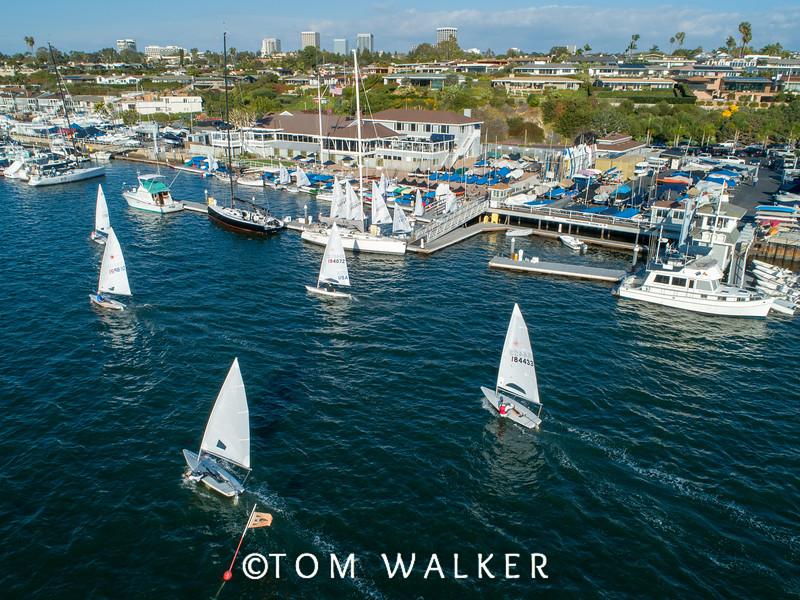 Balboa Yacht Club, Newport Beach, CA Sunkist December 2018