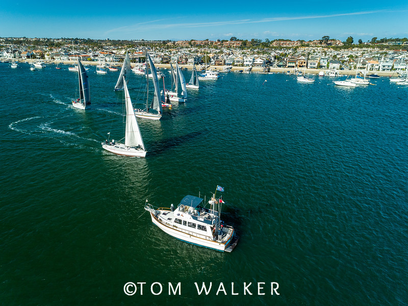 Balboa Yacht Club, Newport Beach, CA Sunkist December 2018