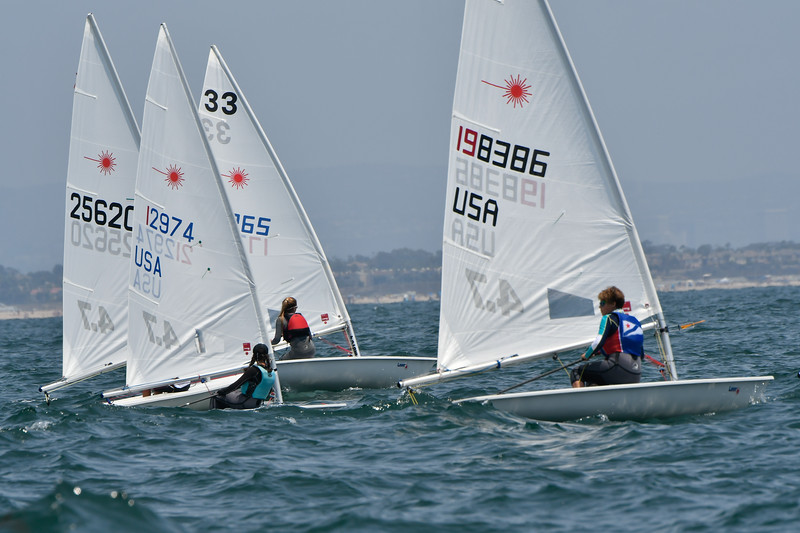 2018 Laser North American Championships,  Alamitos Bay Yacht Club, Long Beach, CA ©Tom Walker