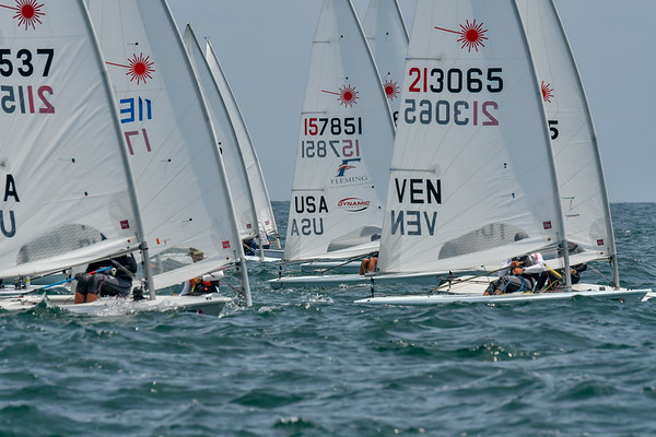 2018 Laser North American Championships,  Alamitos Bay Yacht Club, Long Beach, CA ©Tom Walker