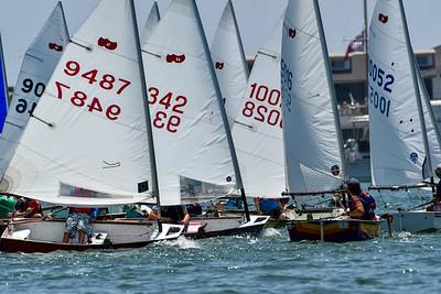 2019 Jr. Naples Sabot National Championship , Newport Harbor Yacht Club, Newport Beach, California