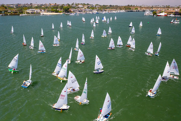 2019 Jr. Naples Sabot National Championship , Newport Harbor Yacht Club, Newport Beach, California