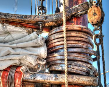 Canvas Sailing mast 4419