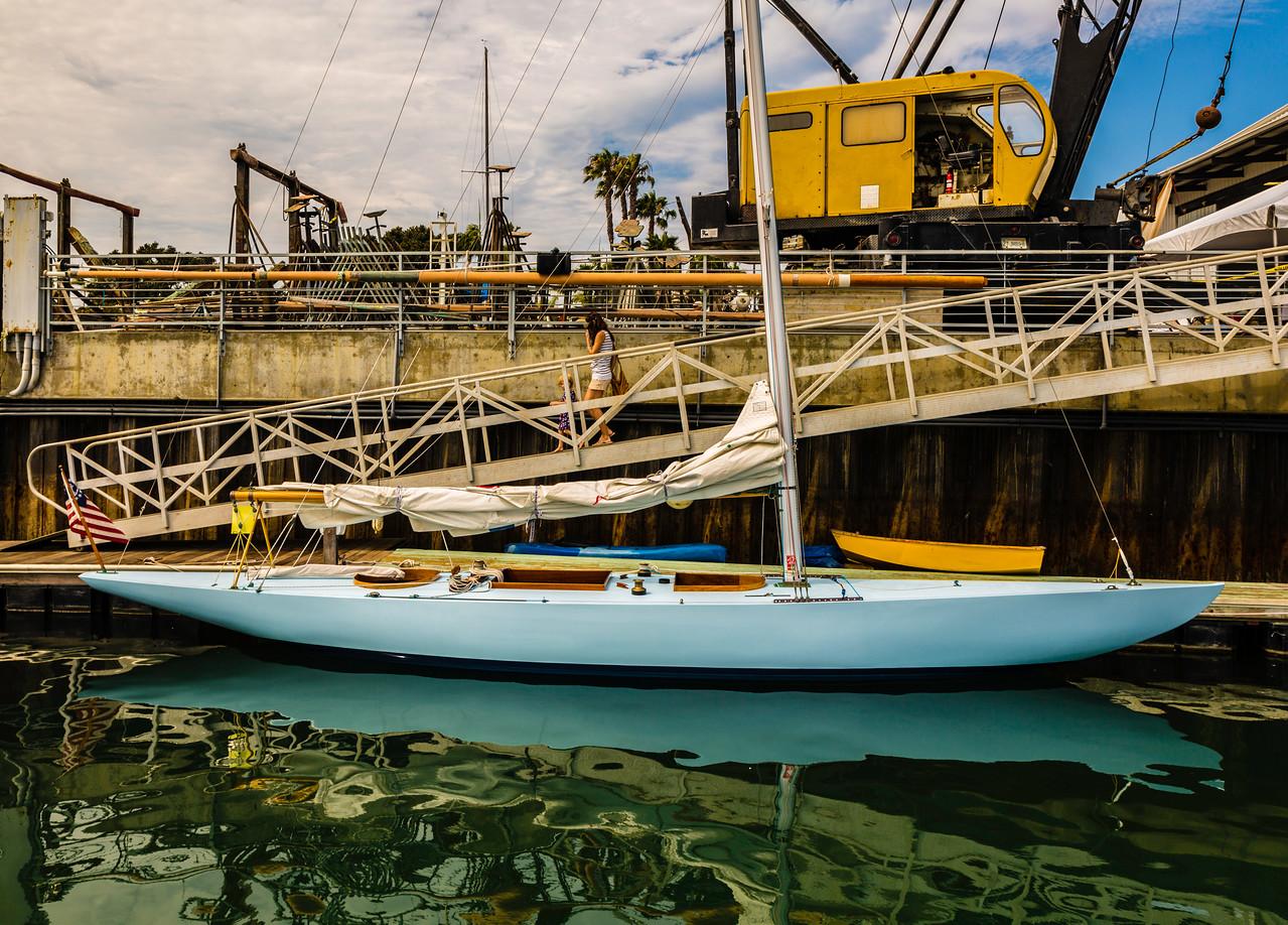 6 Meter Yacht