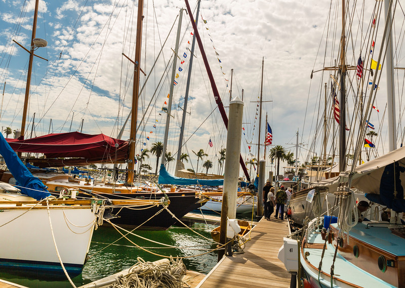 2016 San Diego Wooden Boat Festival Docks
