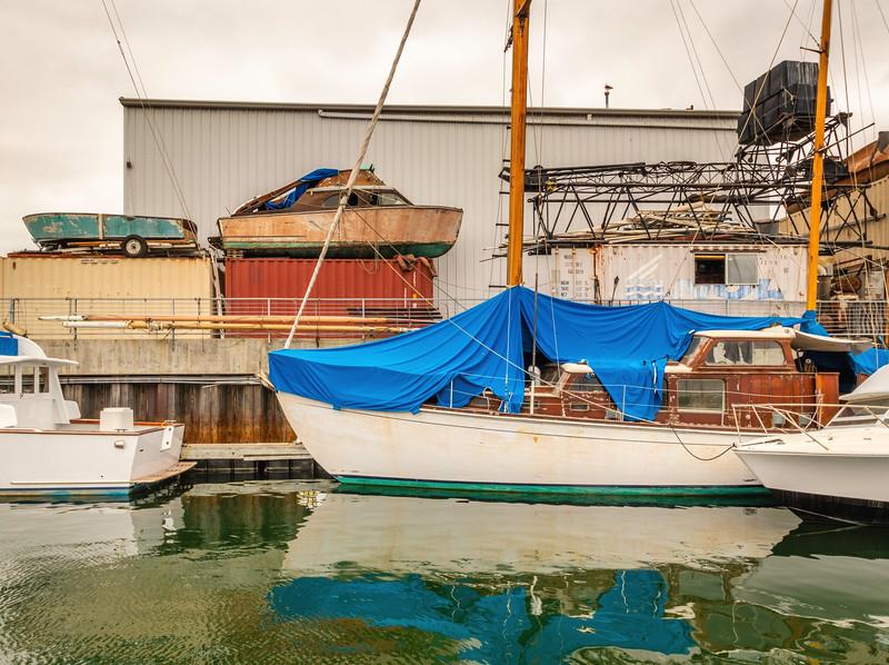 Boat Yard Still Life