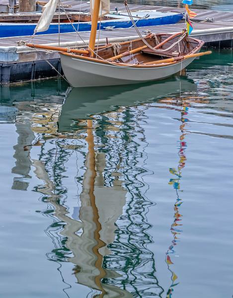 Bog Boat Reflections