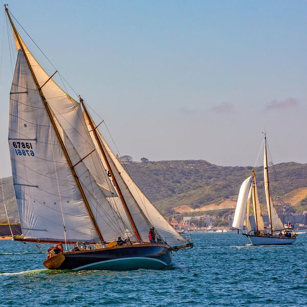 Two schooners