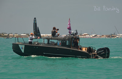America's Cup Chase Boats