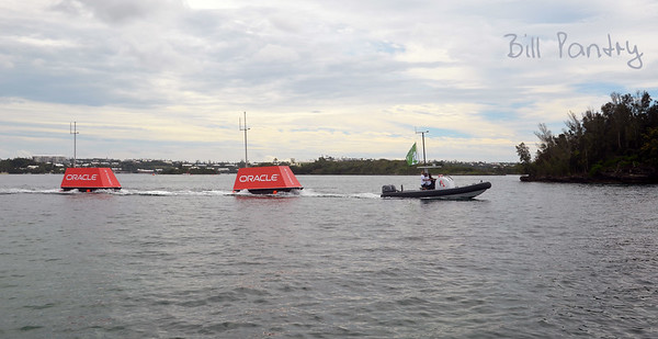 America's Cup Challenge Series, Day 1 - cancelled, no wind