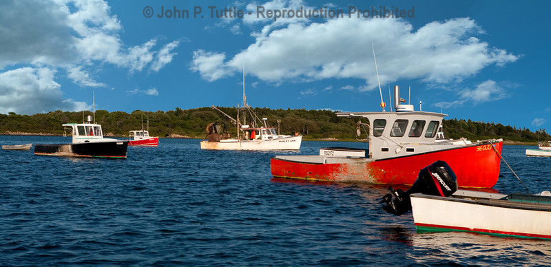 Fishing Boats in Cape Porpoise