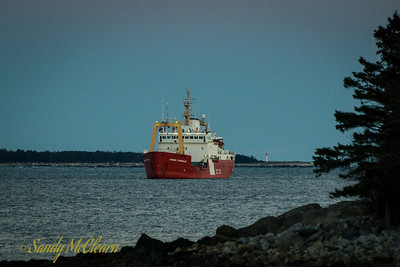 CCGS Edward Cornwallis in Liverpool, NS.
