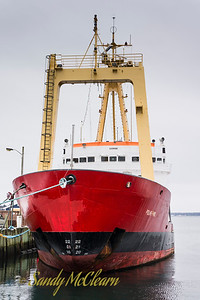 Polar Prince, ex-CCGS Sir Humphrey Gilbert in Lunenburg, NS.