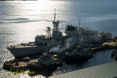 HMCS FREDERICTON (FFH 337).