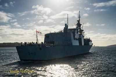 HMCS ST. JOHN'S (FFH 340).
