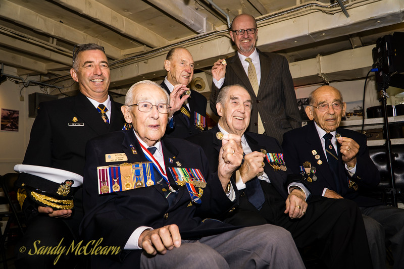 Royal Canadian Mint - Battle of the Atlantic Coin Unveiling