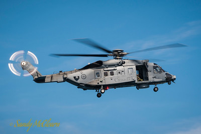 CH-148 Cyclone helicopter of the RCAF.