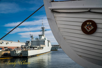 SACKVILLE return to Dockyard, Fall 2016.