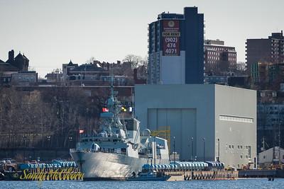HMCS CHARLOTTETOWN.